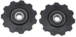 BBB BDP-02 Csapágyas váltógörgő -RollerBoys- 11T fekete
