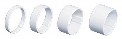 BBB BHP-36 Átalakító -LightSpace- 1-1/8- - 5/10/15/20cm extra könnyű alumínium fehér