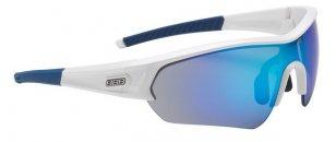 BBB BSG-43 4372 Napszemüveg -Select- fényes fehér / kék MLC