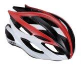 BBB BHE-03 Kerékpáros sisak országúti -Fenix- fehér/piros