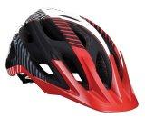"BBB BHE-68 kerékpáros sisak ""Nerone"", matt fekete/piros"