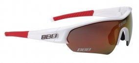 """BBB BSG-43 4391 kerékpáros szemüveg """"Select"""" Team keret/ piros MLC lencsékkel"""