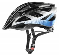 Uvex 2014 Xenova black-white-blue, 55-60cm