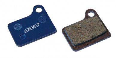 BBB BBS-51 Tárcsafék betét Shi.Deore M555&Nexave C901 hydr. kompatibilis (1 pár) kék