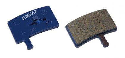 BBB BBS-491 Tárcsfék betét Hayes Stroker carbon/Stroke Trail kompatíbilis (1pár) kék