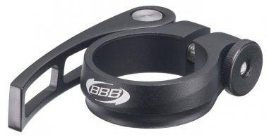 BBB BSP-84 Nyeregcső bilincs -QR Fix- 31.8 matt fekete