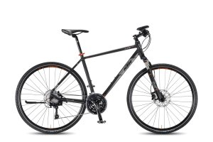 KTM 2016 Life Action 30s Shimano XT, black matt, 51cm